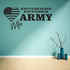 His Duty Army Wife Decal