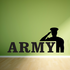 Army Salute Decal