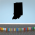 Indiana State Decal