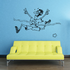 Running Wall Decal - Vinyl Decal - Car Decal - Bl022