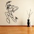 Running Wall Decal - Vinyl Decal - Car Decal - Bl023