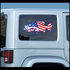 America Flag Bass Sticker