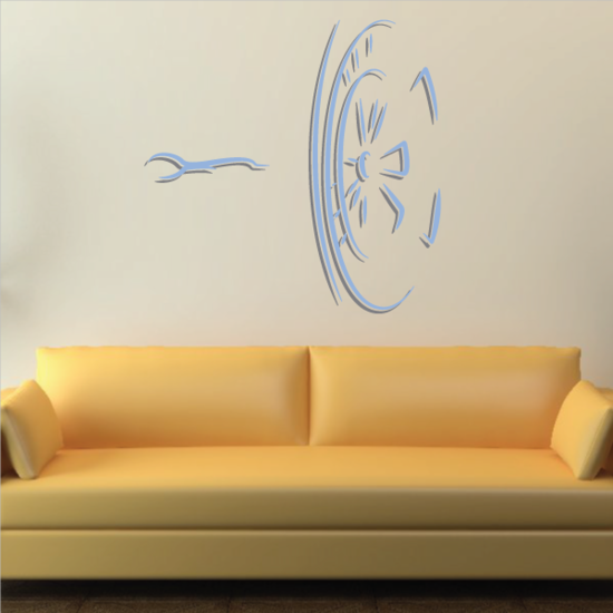 Darts Wall Decal - Vinyl Sticker - Car Sticker - Die Cut Sticker - CDScolor0010