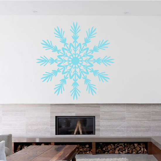 Agnes Snowflake Decal