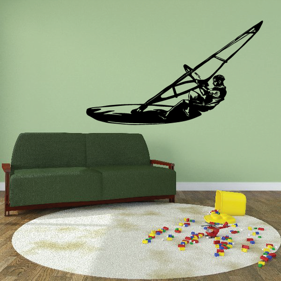 Sailboat Wall Decal - Vinyl Decal - Car Decal - CDS011