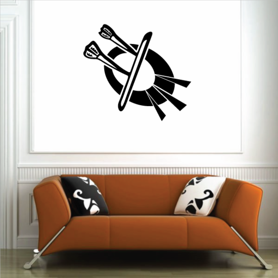 Darts Wall Decal - Vinyl Decal - Car Decal - CDS020