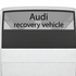 Audi Recovery Vehicle Decal