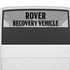 Rover Recovery Vehicle Decal