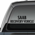 Saab Recovery Vehicle Decal