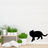 Cozy Cat Looking Back Decal