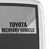 Toyota Recovery Vehicle Decal