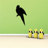 Parrot Grooming Wing Decal