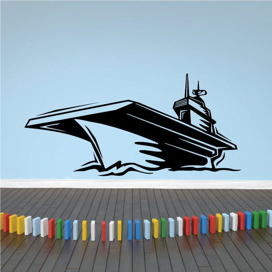 Graphic Aircraft Carrier Decal