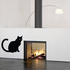 Cat Sitting Observing Decal