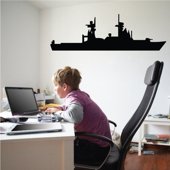Hamilton Class Endurance Cutter Ship Decal
