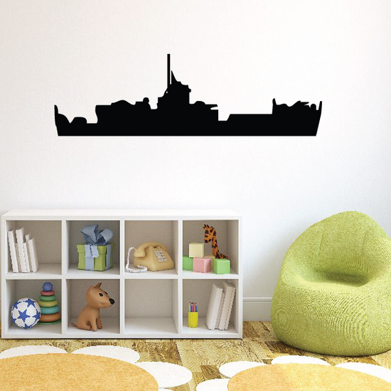 Navy Frigate Decal