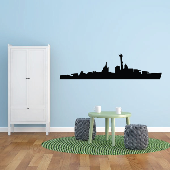 USS Laffey Decal