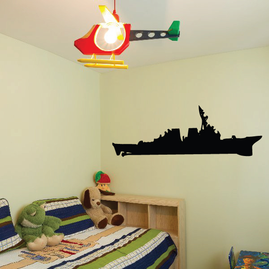 Ticonderoga Class Cruiser Decal