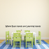 Where Busy Hands are Learning Hands Wall Decal