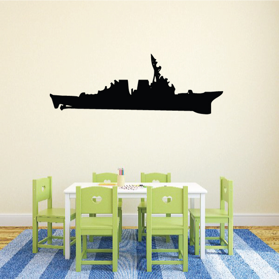 USS Bunker Hill Decal
