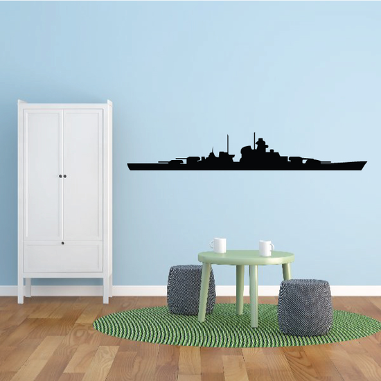 USS West Virginia Decal