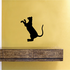 Oriental Cat Climbing Decal