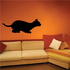 Siamese Cat Pouncing Decal