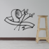 Fencing Wall Decal - Vinyl Decal - Car Decal - CDS005