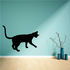 Siamese Cat Playing Decal