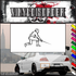 Fencing Wall Decal - Vinyl Decal - Car Decal - SM002