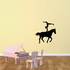 Equestrian Wall Decal - Vinyl Decal - Car Decal - NS004