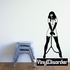 Chained Damsel Decal