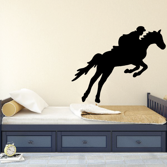 Jumping Horse Wall Decal - Vinyl Decal - Car Decal - NS002