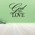 God is love Decal