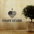 I Heart the Coast Guard Decal