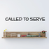 Called to serve Basic Text Decal