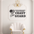 His Duty Sister Coast Guard Decal