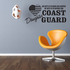 His Duty Daugher Coast Guard Decal