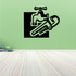 Faucet Wrench Decal