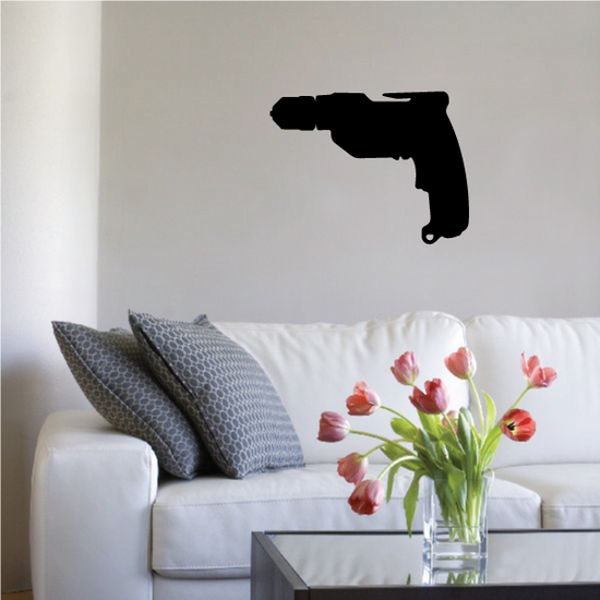 Electric Drill Decal