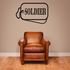Soldier Dog Tag Decal