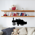 Steam Powered Tractor Decal