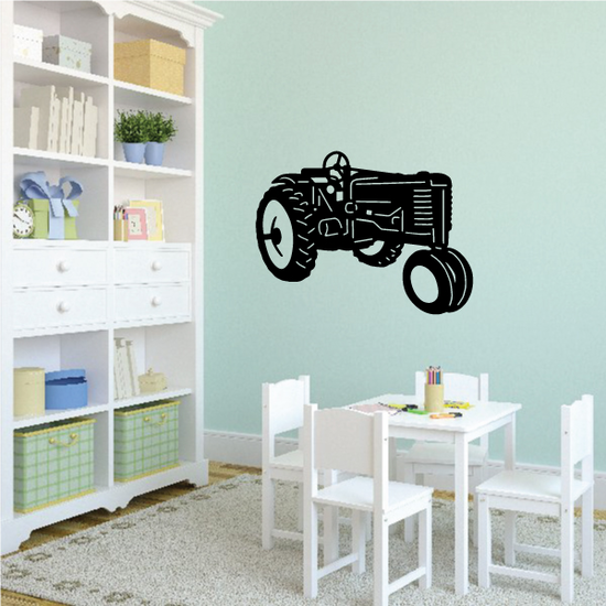 Parked Tractor Decal