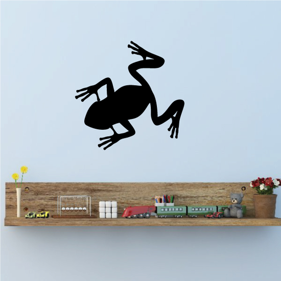 Froggy Silhouette Decal