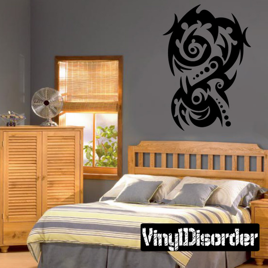 Classic Tribal Wall Decal - Vinyl Decal - Car Decal - DC 008