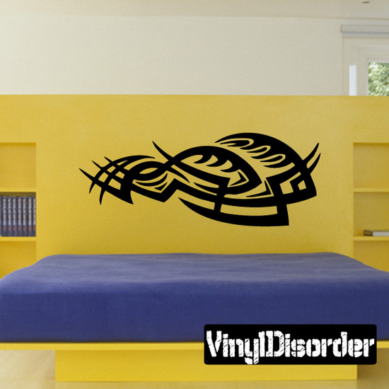 Classic Tribal Wall Decal - Vinyl Decal - Car Decal - DC 010