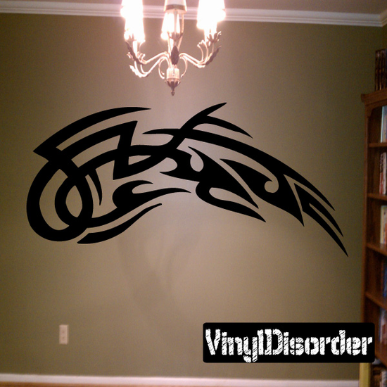 Classic Tribal Wall Decal - Vinyl Decal - Car Decal - DC 027