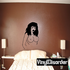 Annoyed Topless Woman Decal