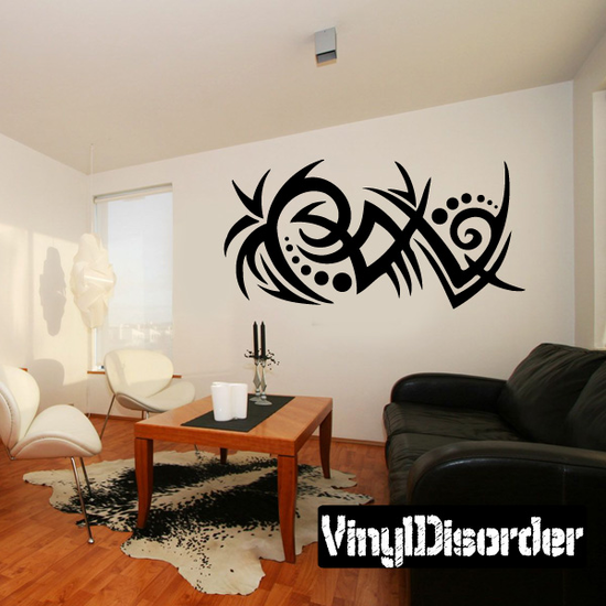 Classic Tribal Wall Decal - Vinyl Decal - Car Decal - DC 033