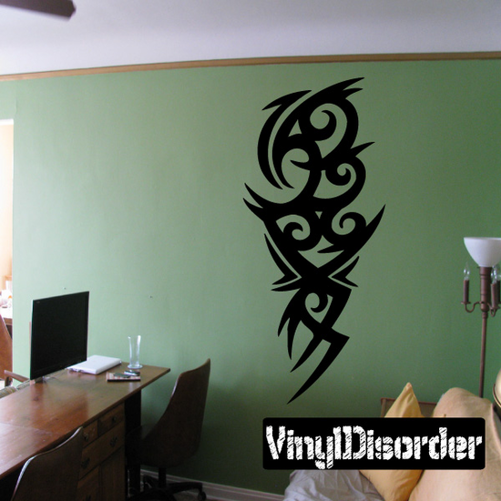 Classic Tribal Wall Decal - Vinyl Decal - Car Decal - DC 041